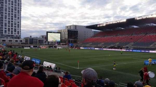 TD Place Stadium, vak: L, rij: 13, stoel: 14