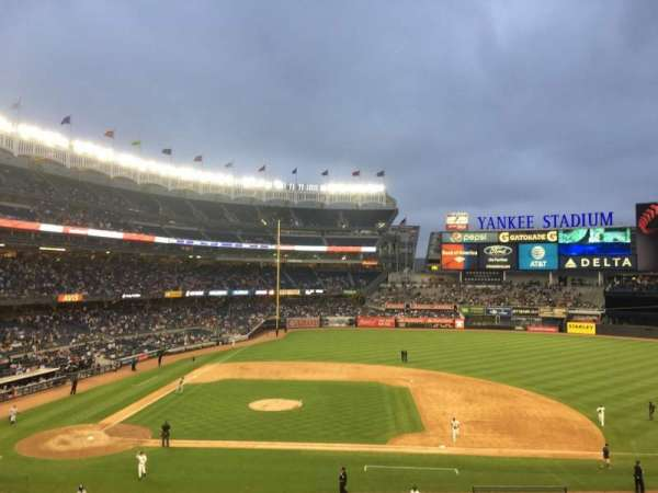 Yankee Stadium, vak: 216, rij: 9, stoel: 7