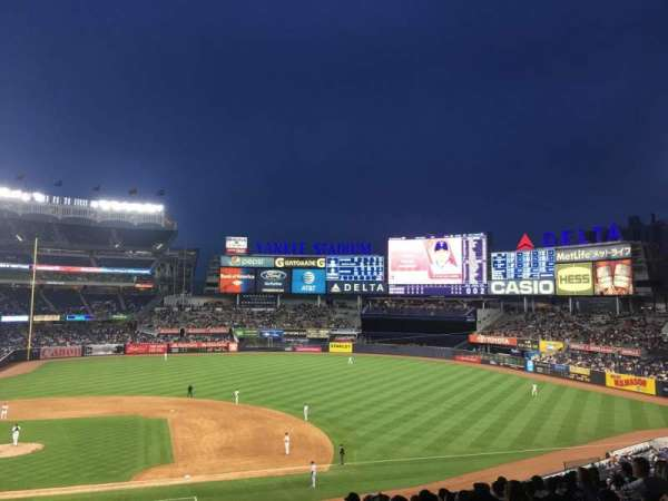 Yankee Stadium, vak: 216, rij: 13, stoel: 2