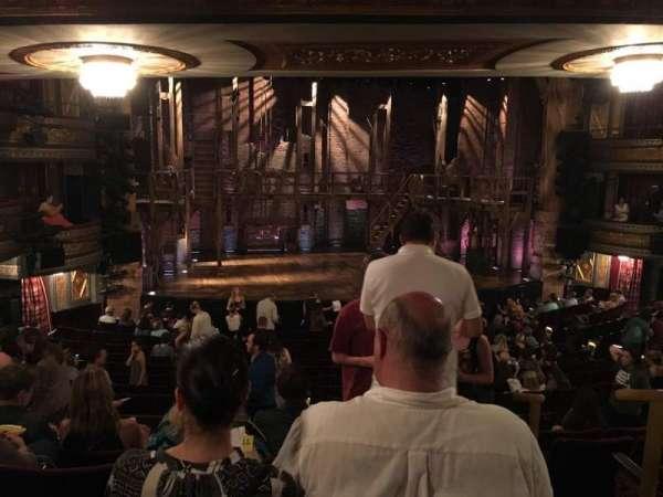 Richard Rodgers Theatre, vak: Orch, rij: S, stoel: 1