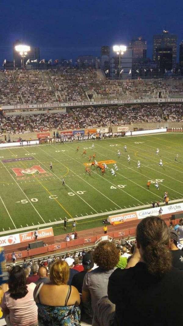 Percival Molson Memorial Stadium, vak: H2, rij: 15, stoel: 20