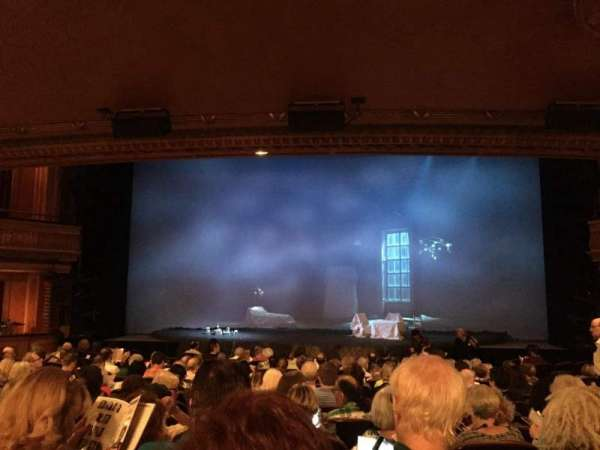 American Airlines Theatre, vak: Orchestra C, rij: O, stoel: 106