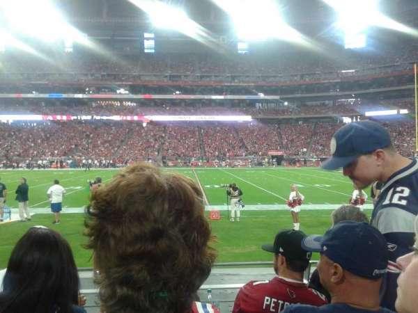 State Farm Stadium, vak: 127, rij: 4, stoel: 7