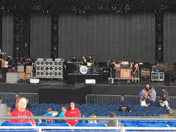 MidFlorida Credit Union Amphitheatre, vak: 9, rij: K, stoel: 58