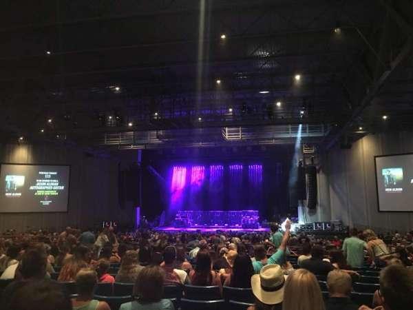 PNC Music Pavilion, vak: 6, rij: U, stoel: 9