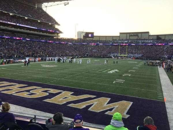 Husky Stadium, vak: 135, rij: 5, stoel: 14