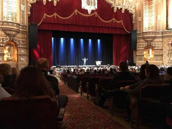 Fox Theatre (Detroit), vak: F2, rij: EE, stoel: 214