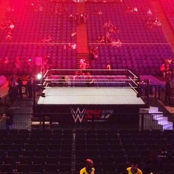 The O2 Arena, vak: 111, rij: N, stoel: 338