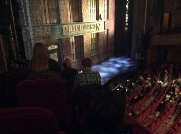 Al Hirschfeld Theatre, vak: Left Box, stoel: 13