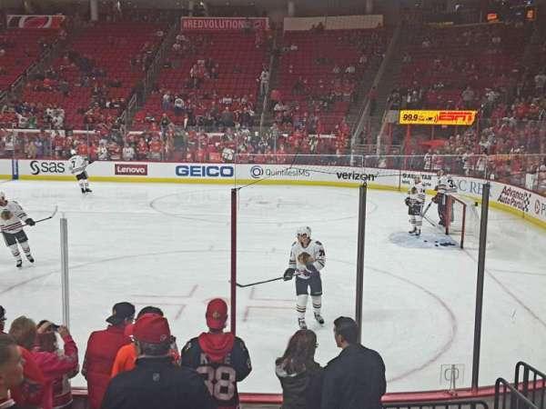 PNC Arena, vak: 101, rij: H, stoel: 2,3,4,5