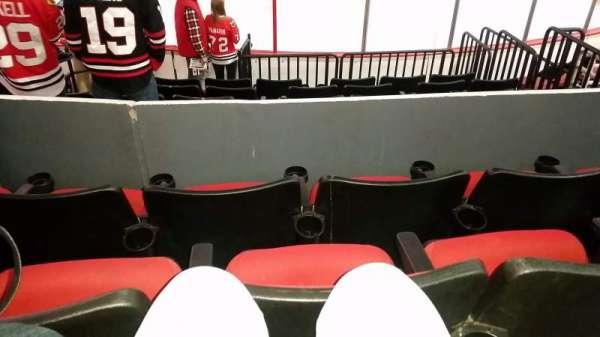 PNC Arena, vak: 101, rij: H, stoel: 4