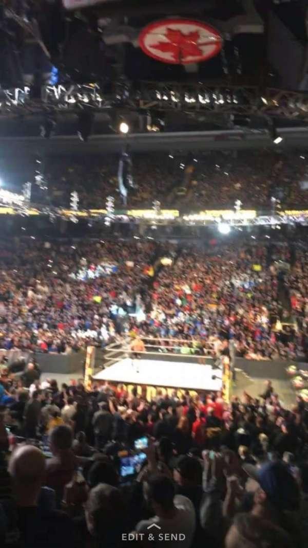 Scotiabank Arena, vak: 108, rij: 12