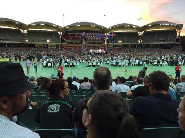 Adelaide Oval, vak: 135, rij: M, stoel: 37