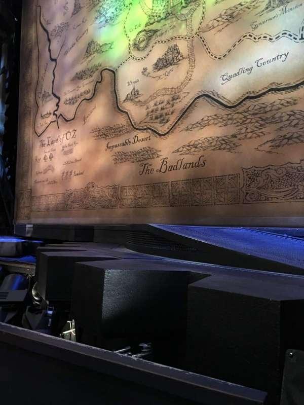 Gershwin Theatre, vak: Orchestra C, rij: BB, stoel: 116