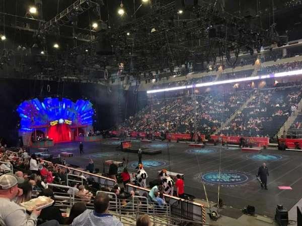 Infinite Energy Arena, vak: 121, rij: N