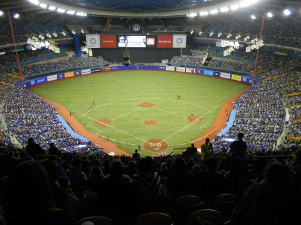 Olympic Stadium, Montreal, vak: 402, rij: R, stoel: 6