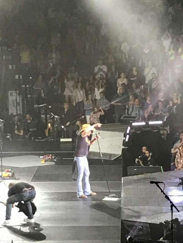 Mohegan Sun Arena, vak: 26, rij: R, stoel: 5