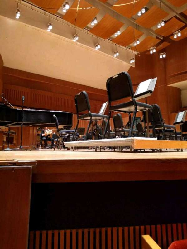 Joseph Meyerhoff Symphony Hall, vak: orchestra left, rij: C, stoel: 13