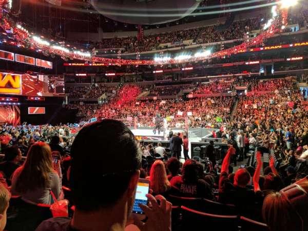 Staples Center, vak: 110, rij: 9, stoel: 14