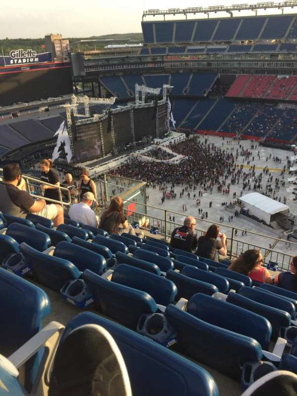 Gillette Stadium, vak: 306