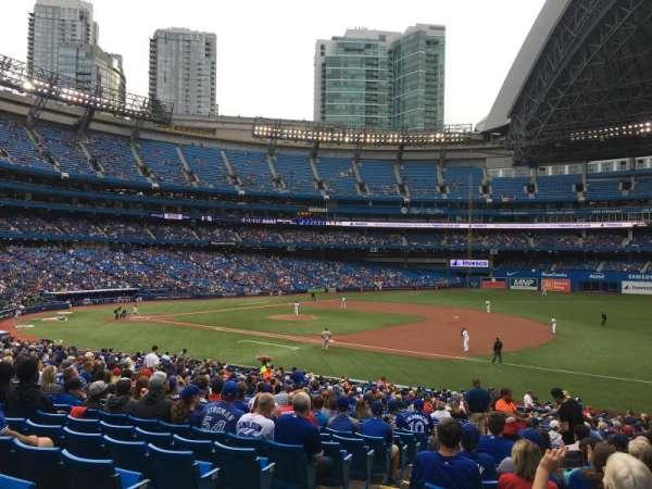 Rogers Centre, vak: 114R, rij: 34, stoel: 3