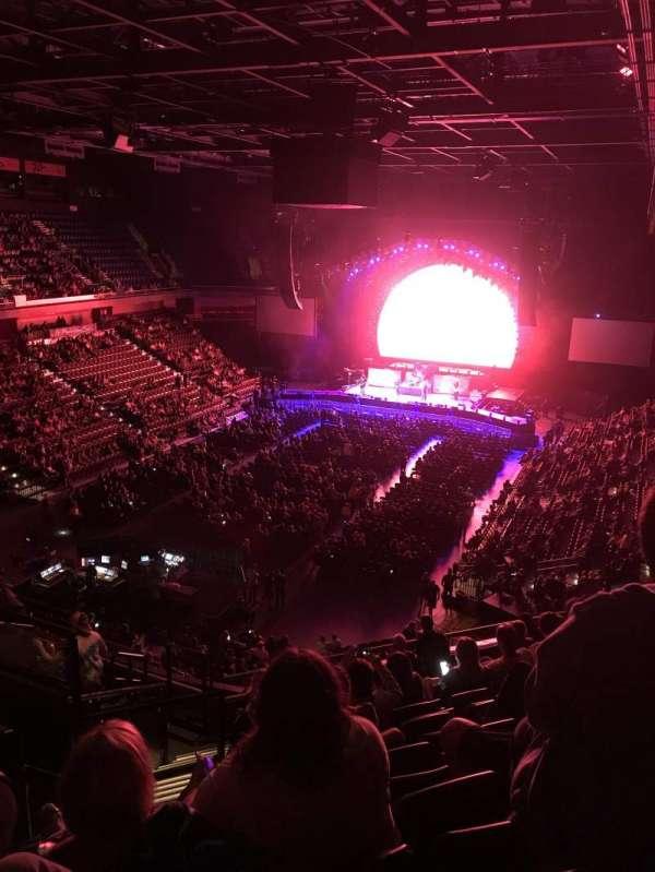 Mohegan Sun Arena, vak: 110, rij: K, stoel: 19