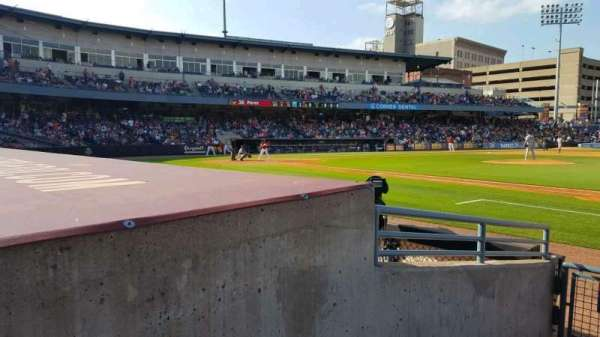 Fifth Third Field, vak: 116, rij: E, stoel: 20