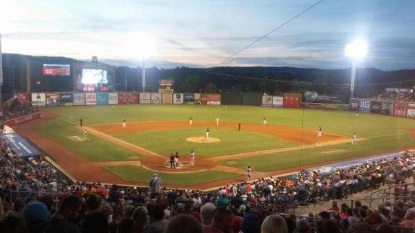 AT&T Field, vak: 307, stoel: 5