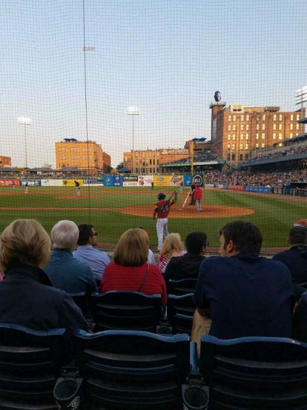 Fifth Third Field, vak: 108, rij: g, stoel: 4