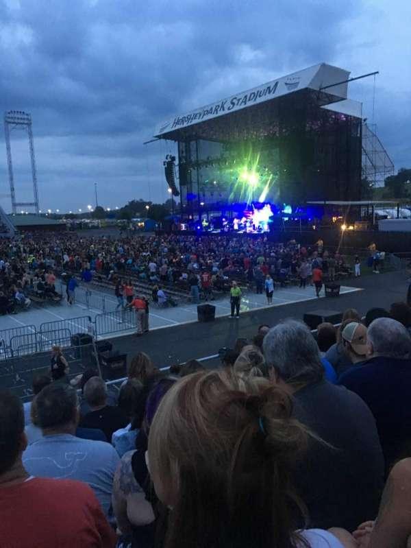 Hershey Park Stadium, vak: 26, rij: B, stoel: 13