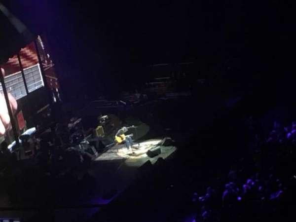Madison Square Garden, vak: 225, rij: 14