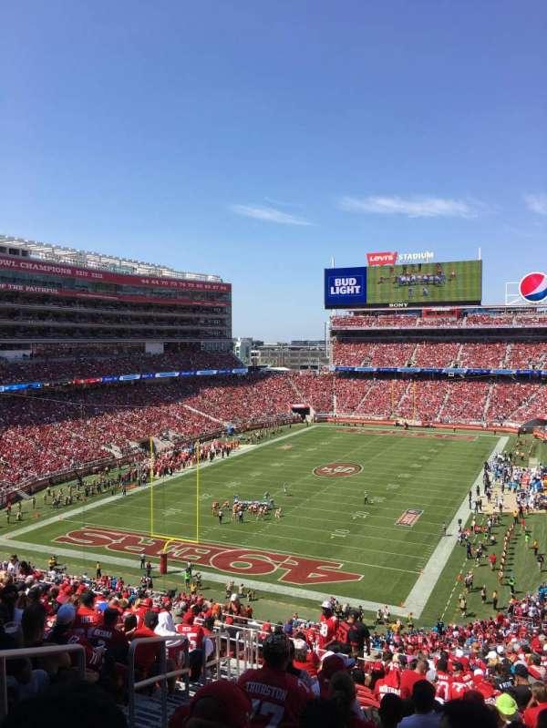 Levi's Stadium, vak: 226, rij: 21, stoel: 25
