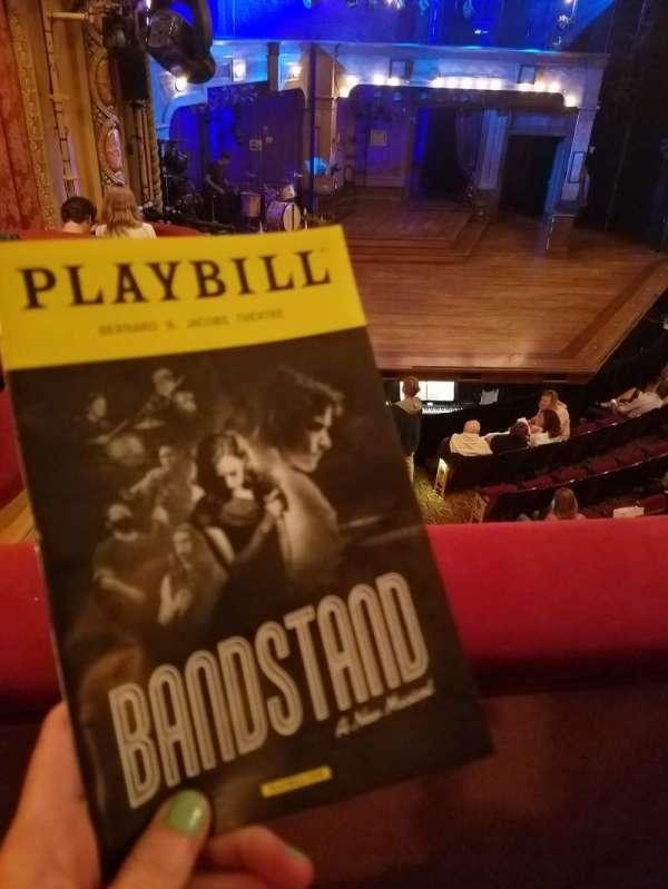 Bernard B. Jacobs Theatre, vak: Mezz, rij: A, stoel: 27
