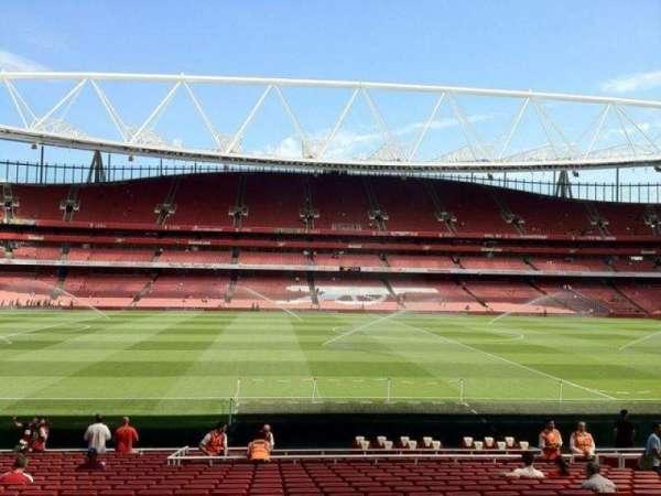 Emirates Stadium, vak: 1, rij: 22, stoel: 25