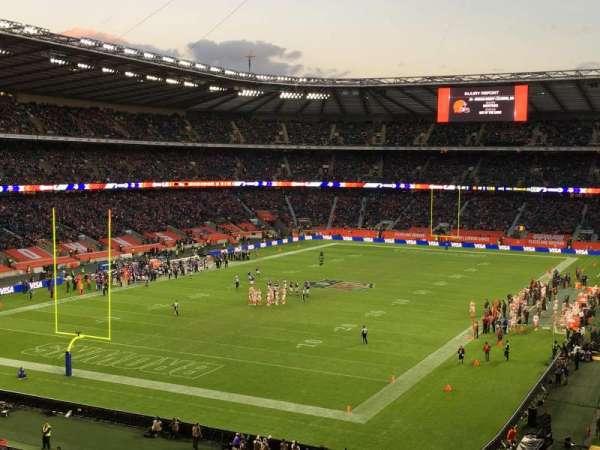 Twickenham Stadium, vak: M16, rij: 64, stoel: 30