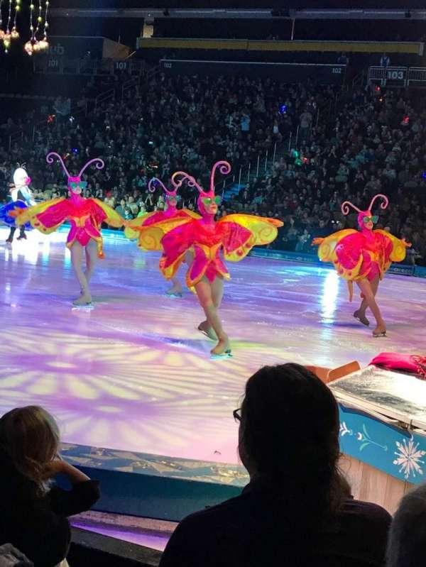 PPG Paints Arena, vak: 110, rij: A, stoel: 12