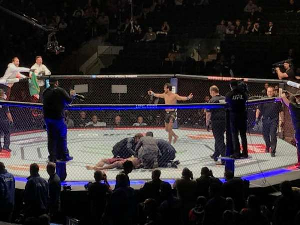 Madison Square Garden, vak: 109, rij: 10, stoel: 1