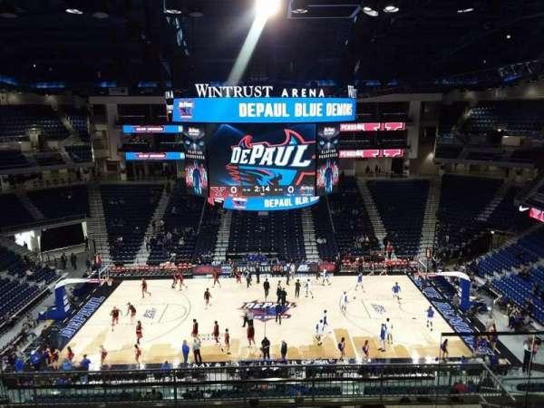 Wintrust Arena, vak: 225, rij: K, stoel: 8