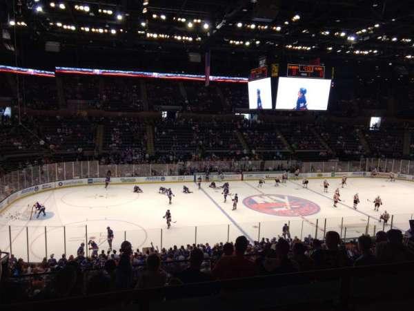Old Nassau Veterans Memorial Coliseum, vak: 205, rij: 2, stoel: 9