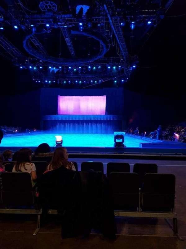 The O2 Arena, vak: D2, rij: B, stoel: 37