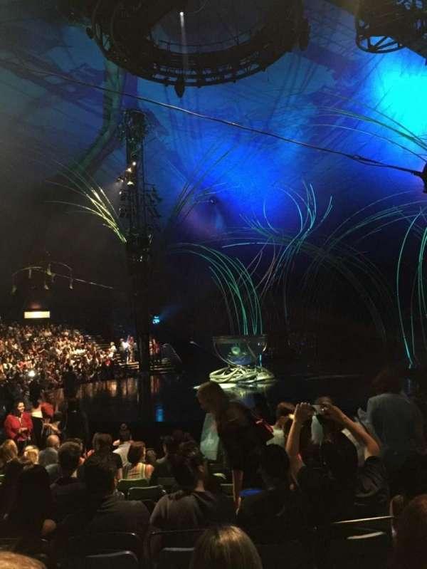 Cirque du Soleil - Amaluna, vak: 202, rij: J, stoel: 7