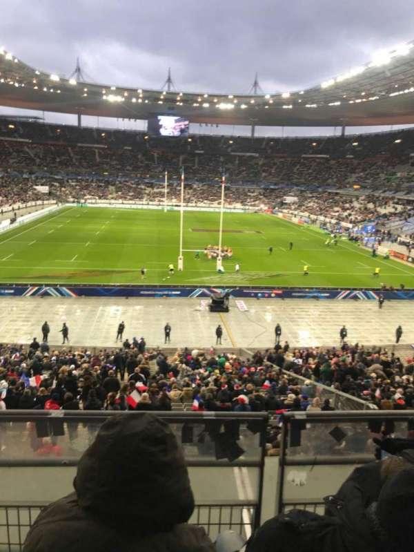 Stade de France, vak: L12, rij: 37, stoel: 25
