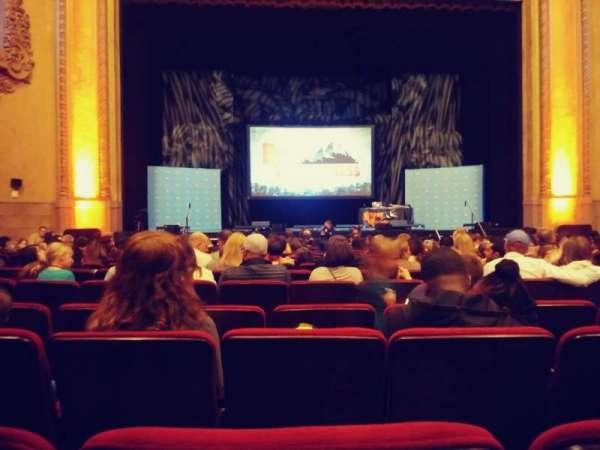 Balboa Theatre, vak: Orch, rij: M, stoel: 115