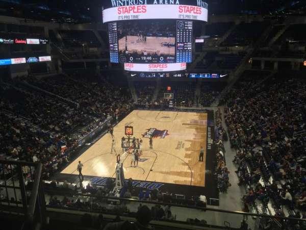 Wintrust Arena, vak: 202, rij: E, stoel: 4