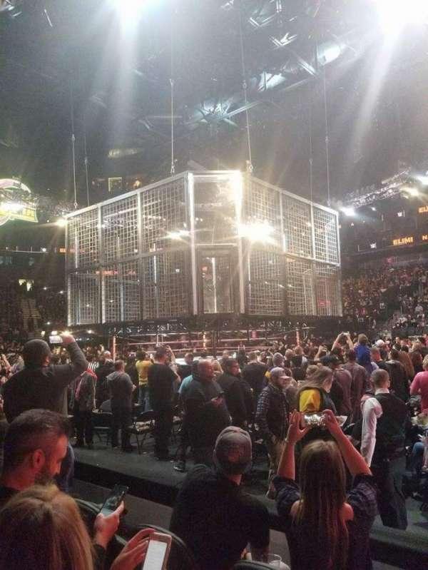 T-Mobile Arena, vak: 16, rij: CC, stoel: 21