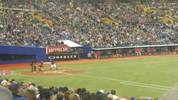 Olympic Stadium, Montreal, vak: 115, rij: TT, stoel: 12