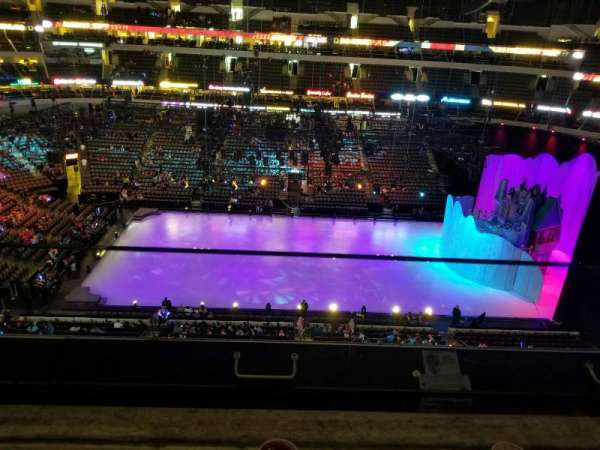 American Airlines Center, vak: 310, rij: A, stoel: 5