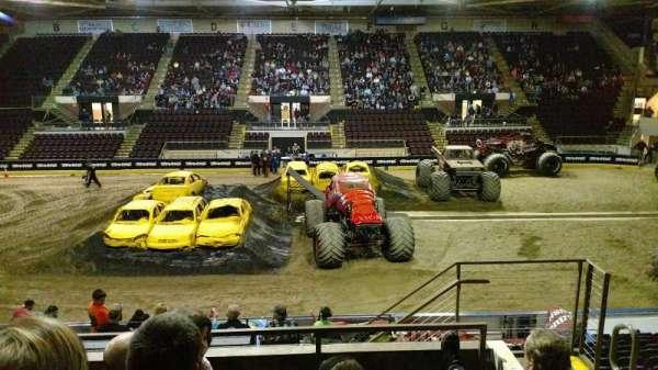 Cross Insurance Arena, vak: V, rij: 15, stoel: 3