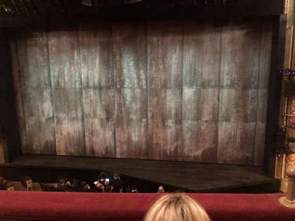 Bernard B. Jacobs Theatre, vak: MezzC, rij: B, stoel: 102