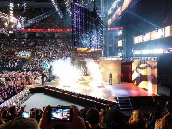 Scotiabank Arena, vak: 117, rij: 12, stoel: 12
